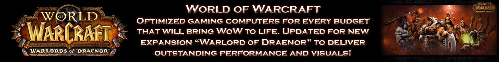 World of Warcraft Warlords of Draenor computer