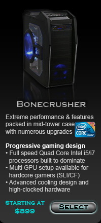 Bonecrusher custom gaming computer